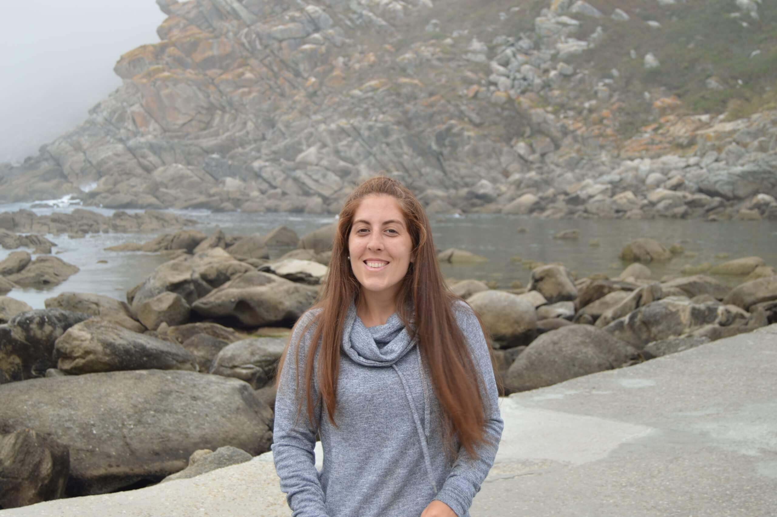 Sara Pombal, creadora, fundadora y copywriter de dandosentido.com